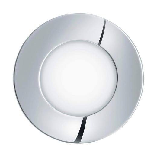 EINBAULEUCHTE Fueva - Chromfarben, Design, Metall (8,5/3cm)