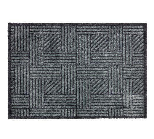 FUßMATTE 67/100 cm - Anthrazit/Grau, Design, Textil (67/100cm) - Schöner Wohnen