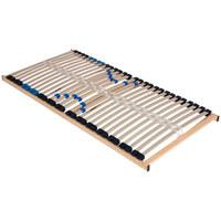 LATTENROST 90/200 cm   Birke Echtholz  - Birkefarben/Hellgrau, Basics, Holz (90/200cm) - Sleeptex