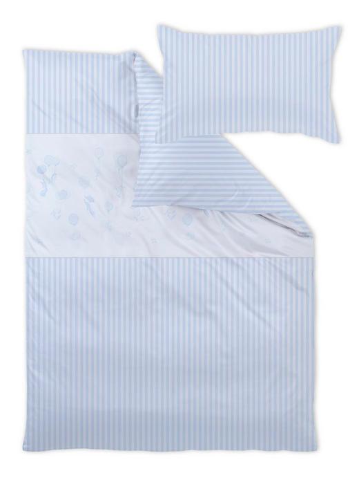 Curt Bauer Babybettwäsche - Hellblau, Basics, Textil (100/135cm)