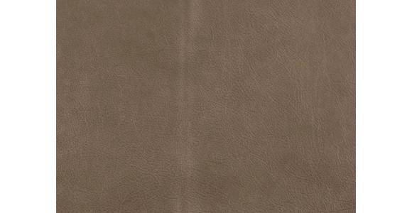 WOHNLANDSCHAFT in Leder Grau - Chromfarben/Grau, Design, Leder (180/280cm) - Voleo