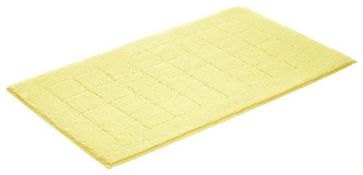 BADEMATTE in Gelb 67/120 cm - Gelb, Basics, Kunststoff/Weitere Naturmaterialien (67/120cm) - Vossen