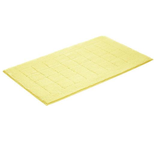 BADEMATTE in Gelb 60/100 cm  - Gelb, Basics, Kunststoff/Weitere Naturmaterialien (60/100cm) - Vossen