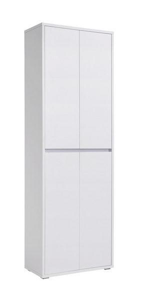 SKOSKÅP - vit, Klassisk, träbaserade material (70/210/34cm) - Xora
