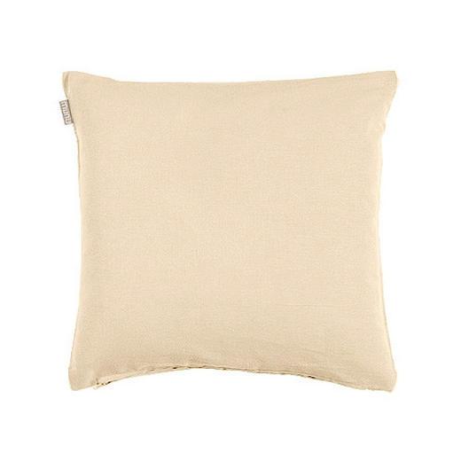 KISSENHÜLLE Beige 40/40 cm - Beige, Basics, Textil (40/40cm) - Linum