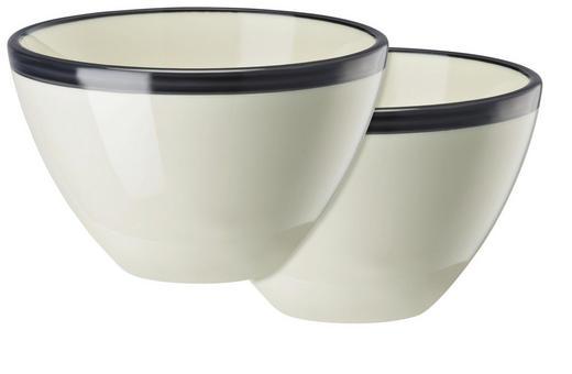 SCHÜSSELSET Keramik Porzellan 2-teilig - Blau, Basics, Keramik (0,45l)