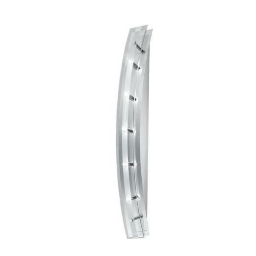WANDLEUCHTE - KONVENTIONELL, Glas/Metall (57/7/8.5cm)
