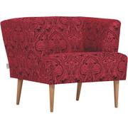 KŘESLO - černá/přírodní barvy, Design, dřevo/textil (85/71/80cm) - Carryhome