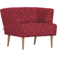 KŘESLO - černá/přírodní barvy, Design, dřevo/textilie (85/71/80cm) - Carryhome