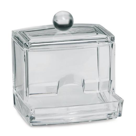 AUFBEWAHRUNGSBOX - Transparent, Basics, Kunststoff (9/7/9,5cm)