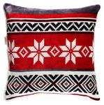 ZIERKISSEN 50/50 cm  - Rot/Weiß, LIFESTYLE, Textil (50/50cm) - Landscape