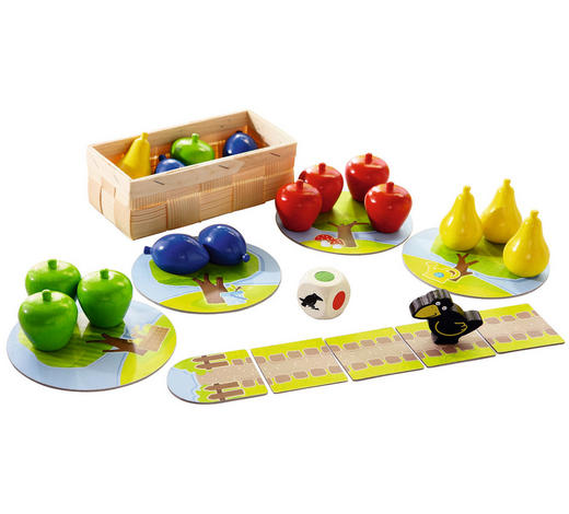 Erster Obstgarten - Multicolor, Basics, Karton/Holz (22,4/22,5/7,3cm) - Haba