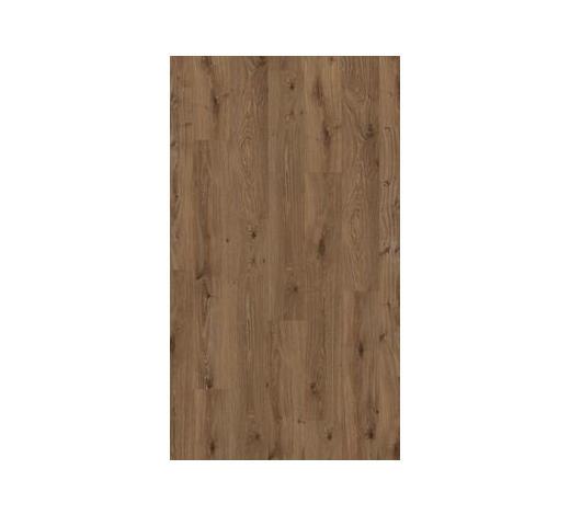 LAMINATBODEN Braun, Eichefarben, Dunkelbraun  per  m² - Eichefarben/Dunkelbraun, KONVENTIONELL, Holzwerkstoff (128,5/19,4/0,8cm) - Parador