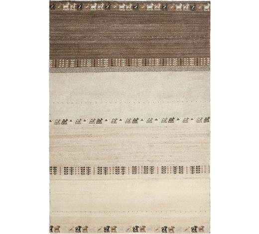 ORIENTTEPPICH 90/160 cm  - Braun/Naturfarben, LIFESTYLE, Textil (90/160cm) - Esposa