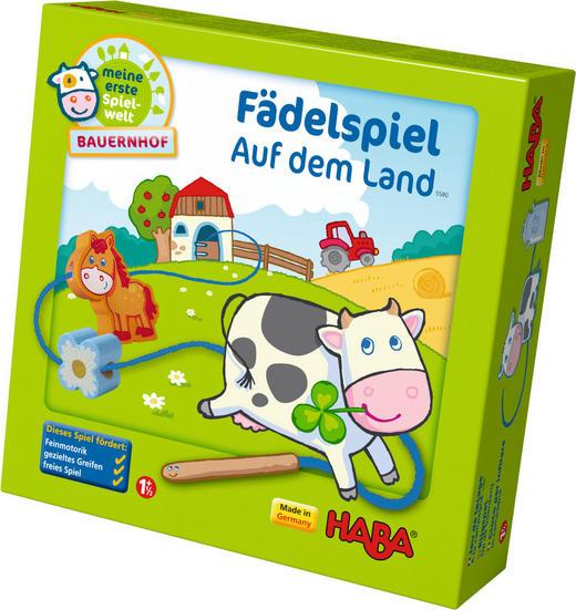 LERNSPIEL - Multicolor, Basics, Karton/Holz (22/22,8/7cm) - Haba
