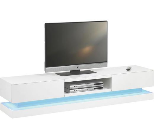 TV-ELEMENT 180/36/39 cm - Weiß, Design, Holzwerkstoff (180/36/39cm)