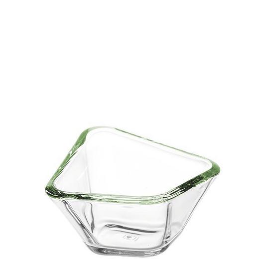 SCHALE - Grün, Basics, Glas (13,20/13,20cm) - LEONARDO