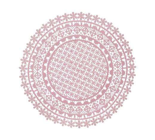 PLATZDECKCHEN Textil - Rosa, Trend, Textil (36cm) - Ambia Home