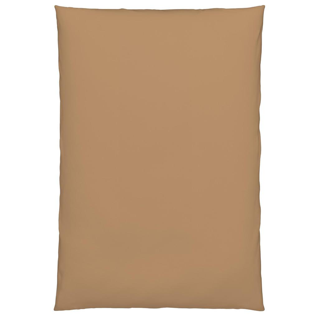 Image of Bio:Vio Duvetbezug 160/210 cm , Satin Gots Bettbezug , Goldfarben , Textil , Uni , 160 cm , Satin , atmungsaktiv, schadstoffgeprüft , 003917041201