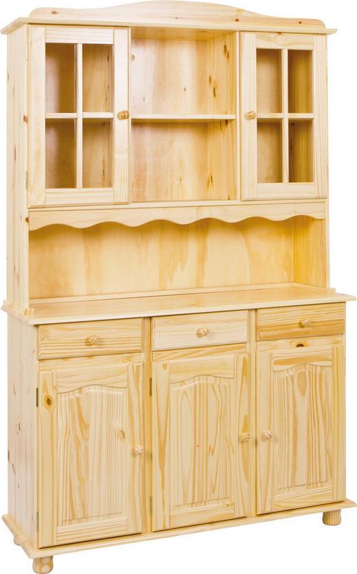 BUFFET Kiefer massiv Kieferfarben - Kieferfarben, LIFESTYLE, Holz (130/198/43cm) - Carryhome