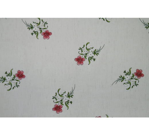 DEKOSTOFF per lfm blickdicht - Rot, LIFESTYLE, Textil (160cm) - Landscape