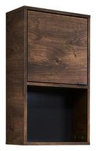 OBERSCHRANK Eichefarben, Grau - Eichefarben/Grau, MODERN, Holzwerkstoff/Metall (39/70/20cm) - Xora
