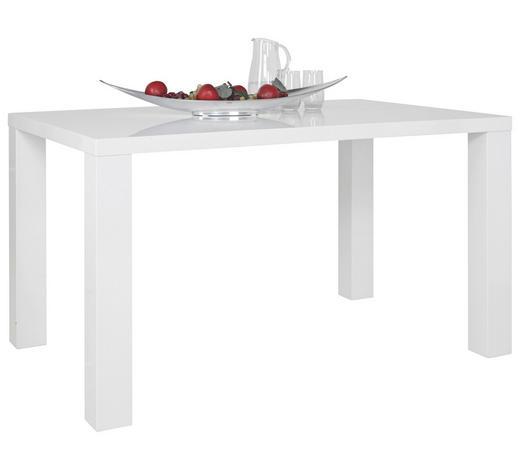 JÍDELNÍ STŮL, bílá - bílá, Konvenční, dřevo (160/90/76cm) - Cantus
