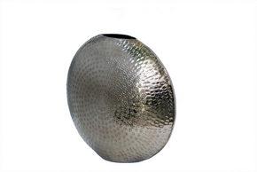 VAS - silver, Basics, metall (29/26/12cm) - Ambia Home