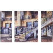 Architektur GLASBILD - Multicolor, Design, Glas (60/80/5cm) - Eurographics