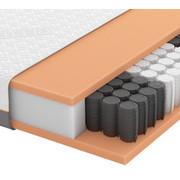 GEL-TASCHENFEDERKERNMATRATZE Quantum 200 TFK 90/200 cm 20 cm - Weiß, Basics, Textil (90/200cm) - Schlaraffia