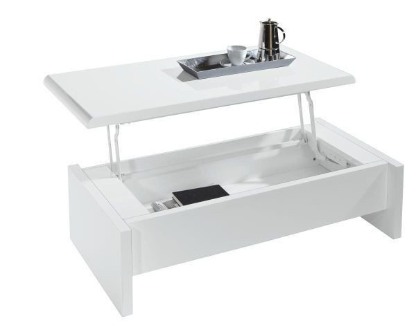 SOFFBORD - vit, Design, träbaserade material (120/60/35cm) - Carryhome