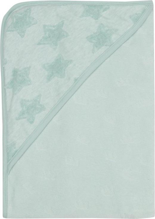 KAPUZENBADETUCH - Mintgrün, Textil (85/75/1cm) - Bebe Jou