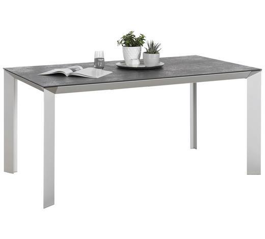 Tisch Ausziehbar Keramikplatte.Esstisch In Metall Keramik 140 200 90 76 Cm