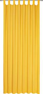 ZAVJESA S OMČAMA - žuta, Konvencionalno, tekstil (135/245cm) - BOXXX