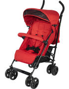 BUGGY Madrid - Rot/Schwarz, KONVENTIONELL, Kunststoff/Textil (61/48/104cm) - My Baby Lou