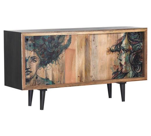 SIDEBOARD 160/85/45 cm - Multicolor/Naturfarben, Design, Holz (160/85/45cm) - Lomoco
