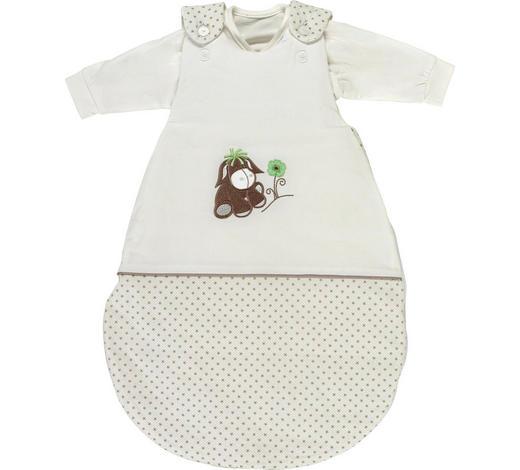 2/1 SPALNA VREČA DIEGO - sivo rjava/zelena, Basics, tekstil (56-62cm) - My Baby Lou