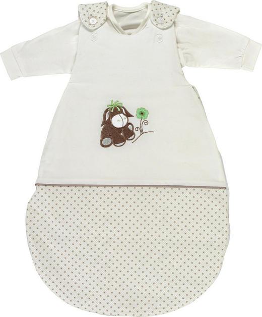 BABYSCHLAFSACKSET - Taupe/Weiß, Basics, Textil (56-62cm) - My Baby Lou