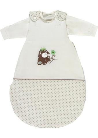 SADA DĚTSKÝCH SPACÍCH PYTLŮ - bílá/zelená, Basics, textilie (56-62cm) - My Baby Lou