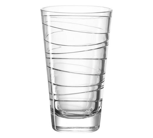 LONGDRINKGLAS 280 ml  - Transparent, Design, Glas (7,50/12,50/7,50cm) - Leonardo
