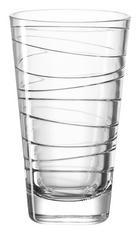 SKLENIČKA NA LONGDRINK - průhledná, Design, sklo (7,50/12,50/7,50cm) - Leonardo