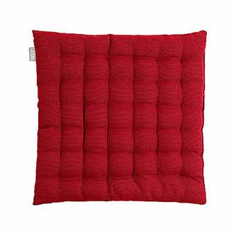 SEDÁK - bordeaux, Basics, textil (40/40/3cm) - Linum