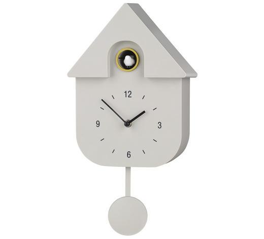 WANDUHR 40/23/9 cm - Grau, Design, Kunststoff (40/23/9cm) - Boxxx
