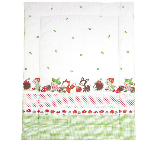 KRABBELDECKE 100/135 cm - Multicolor, Basics, Textil (100/135cm) - My Baby Lou