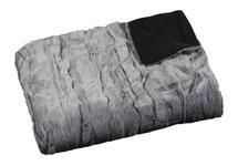 Kuscheldecke Bilbao - Grau, ROMANTIK / LANDHAUS, Textil (140/200cm) - James Wood