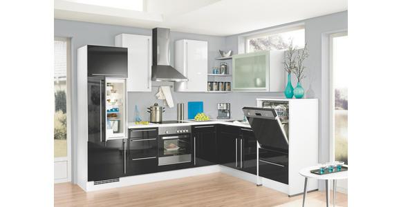 Einbauküche Fargo individuell planbar - Platinfarben/Silberfarben, MODERN, Holzwerkstoff - Vertico