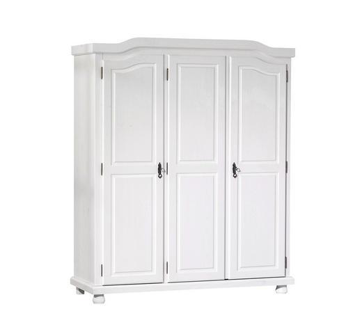 DREHTÜRENSCHRANK 150/180/56 cm - Weiß, LIFESTYLE, Holz/Metall (150/180/56cm) - Carryhome