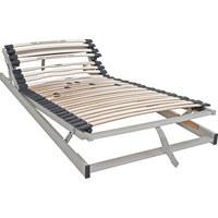 LATTENROST  90/200 cm  Birke Nachbildung - Birkefarben/Weiß, Basics, Holz (90/200cm) - Sleeptex