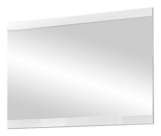 SPIEGEL Weiß - Weiß, KONVENTIONELL, Glas/Holzwerkstoff (92/68/2cm) - Carryhome