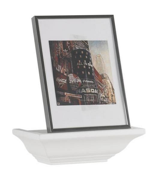 WANDBOARD Weiß - Weiß, LIFESTYLE (25/7,5/12,5cm) - Landscape